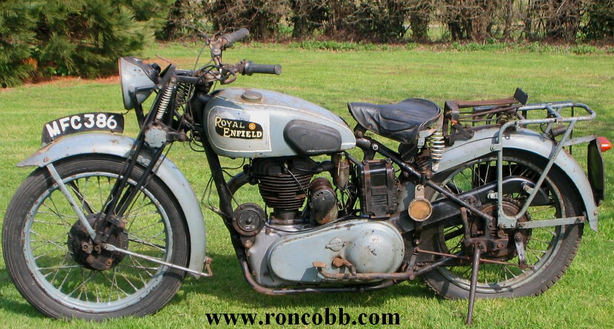 Royal Enfield WD/CO/B 1942 WW2 Military motorcycle for sale
